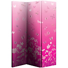 more details on Butterfly Meadow Room Divider - Pink.
