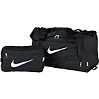 more details on Nike Brasilia Small 2 Piece Holdall Set - Black.