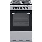 more details on Beko BS530 Single Electric Cooker - Silver/Exp.Del.