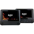 more details on Bush 7in Twin in Car DVD Player