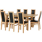 Buy Collection Margo Dining Table Amp 4 Chairs Solid Wood