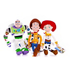 more details on Disney Toy Story 8 Inch Plush 3 Set - Woody, Jessie and Buzz