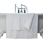more details on ColourMatch Pair of Bath Towels - Super White.