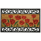 more details on Poppy Design Coir and Rubber Doormat - 75cm x 45cm.