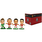 more details on SoccerStarz Manchester United 4 Pack Blister Box A.