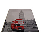 more details on London Bus Rug - 160 x 230cm.