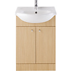 more details on Eliana Ferne Vanity Unit Oak with Ivy Basin Mixer.