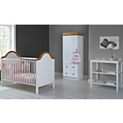 more details on Obaby B is for Bear 3 Piece Nursery Furniture Set - White.