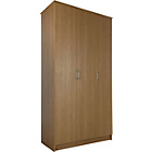 more details on Cheval 3 Door Wardrobe - Oak Effect.