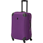 more details on IT Frameless Small Expandable 4 Wheel Suitcase - Purple.
