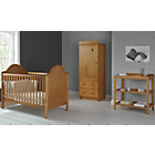 more details on Obaby B is for Bear 3 Piece Nursery Furniture Set - Pine.