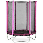 more details on Plum Junior Trampoline and Enclosure - Pink.