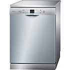 more details on Bosch SMS40A08GB Dishwasher - Stainless Steel.
