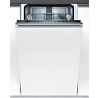 more details on Bosch SPV40C00GB Integrated Slimline Dishwasher - White.
