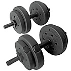 more details on Pro Fitness Vinyl Dumbbell Set - 15kg.