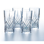 more details on 4 Orchestra Crystal Hi-Ball Glasses.