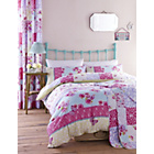 more details on Catherine Lansfield Gypsy Patchwork Duvet Cover Set-Kingsize