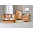 more details on BabyStart Delfina 3 Piece Nursery Set - Pine.