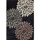 more details on Heart of House Chrissie Rug 170x120cm - Black.