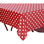 more details on PVC Red Polka Dot Tablecloth.