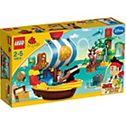 more details on LEGO® DUPLO Jake's Pirate Ship Bucky - 10514.