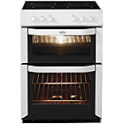 more details on Belling FSE60DO Double Electric Cooker - White/Exp Del.