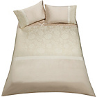 more details on Inspire Jacquard Champagne Bedding Set - Double.