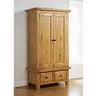 more details on Tuscany 2 Door Wardrobe - Pine.