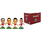 more details on SoccerStarz Arsenal FC 4 Pack Blister Box B.
