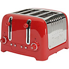 more details on Dualit DPP4 4 Slice Lite Toaster - Red.