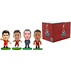 more details on SoccerStarz Liverpool FC 4 Pack Blister Box B.