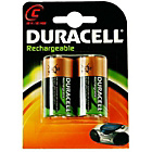 more details on Duracell Rechargeable C Size Batteries - 2 Pack.