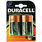 more details on Duracell Rechargeable D Size Batteries - 2 Pack.