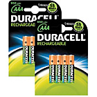 more details on Duracell Rechargeable 900 mAh AAA Batteries - 8 Pack.