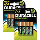 more details on Duracell Rechargeable Accu 2400 mAh AA Batteries - 8 Pack.