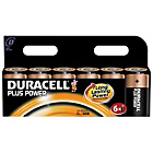 more details on Duracell Plus Power Alkaline D Size Batteries - 6 Pack.