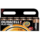 more details on Duracell Plus Power Alkaline C Size Batteries - 6 Pack.