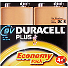 more details on Duracell Plus Power Alkaline 9V Size Batteries - 4 Pack.