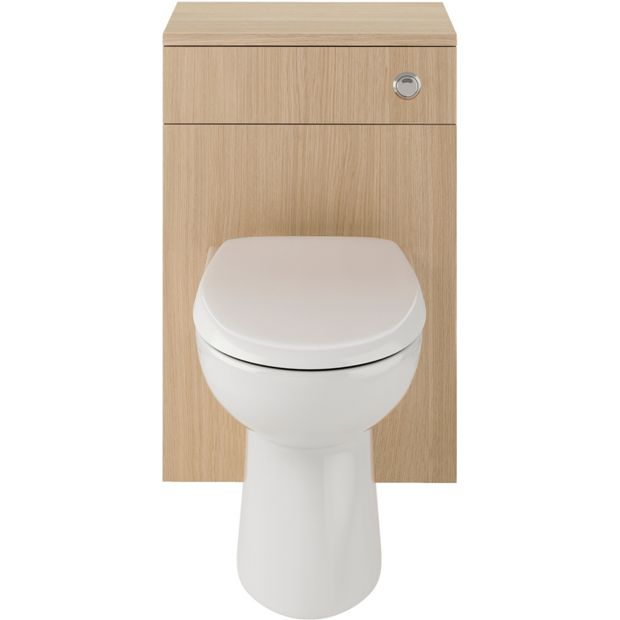 Buy Eliana Ferne Wc Unit Oak With Toilet And Seat At Argos