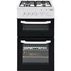 more details on Beko BDG5181 Single Gas Cooker - White/Exp.Del.