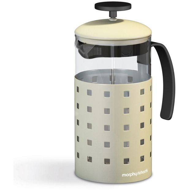 buy morphy richards accents 8 cup 1000ml cafetiere cream. Black Bedroom Furniture Sets. Home Design Ideas