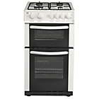more details on Bush AG56TW Twin Gas Cooker- White/Exp Del.