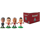 more details on SoccerStarz Arsenal FC 4 Pack Blister Box A.