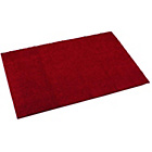 more details on Maroon Fiji Machine Washable Rug - 200cm x 67cm.