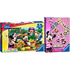 more details on Ravensburger Minnie Mouse Dominoes and Mickey Mouse Jigsaw.