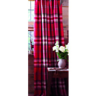 more details on Kelso Pencil Pleat Lined Curtains 168 x 183cm - Red.
