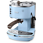 more details on De'Longhi Vintage Icona Blue Espresso Coffee Machine - Blue.