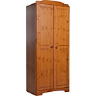 more details on Nordic 2 Door Wardrobe - Pine.