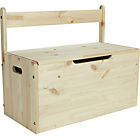 more details on Kids Scandinavia Toy Box - Pine.