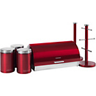 more details on Morphy Richards Accents 6 Piece Storage Set - Red.